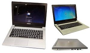 Ultrabook Asus S46 và S56 có đồ hoạ rời và ổ quang