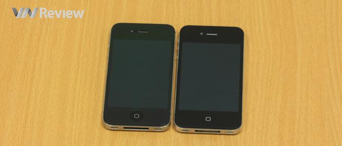 Phân biệt HKphone 4S Retina Pro và iPhone 4S