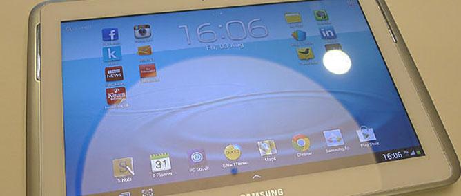 Ưu, nhược điểm Samsung Galaxy Note 10.1