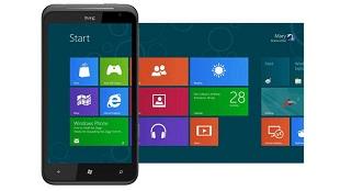 3 HTC Windows Phone 8 ra mắt cuối tháng Chín