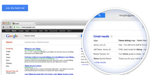 Google đưa nội dung Gmail vào kết quả tìm kiếm