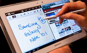 Giá Galaxy Note 10.1 khoảng 500-550 USD