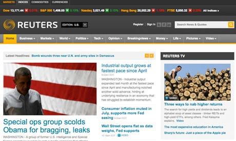 Hãng tin Reuters liên tiếp bị hack