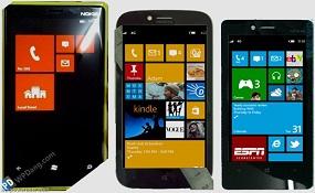 Hình ảnh Nokia Windows Phone 8 sắp ra mắt