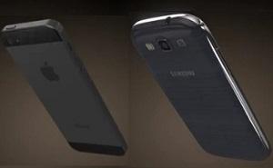 Video dựng hình 3D iPhone 5 so sánh với Galaxy S III