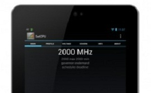 Ép xung Nexus 7 lên 2 GHz
