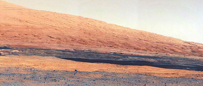 Những bức ảnh màu đầu tiên về Sao Hỏa