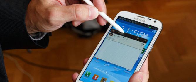 Trên tay Samsung Galaxy Note 2