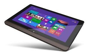 Máy tính bảng Toshiba U920T Windows 8 có bàn phím trượt