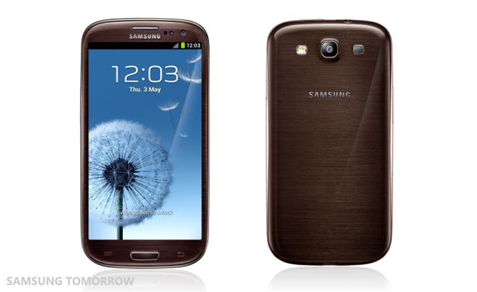 Samsung Galaxy S III thêm màu sắc lấy cảm hứng từ thiên nhiên