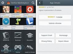Chợ ứng dụng của Firefox OS lộ diện