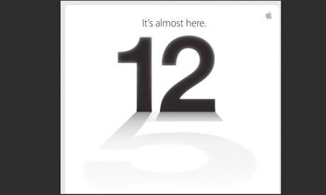 iPhone 5 ra mắt ngày 12/9
