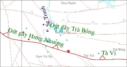 Nguyên nhân động đất khu vực Thủy điện Sông Tranh 2