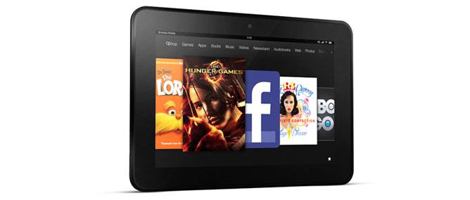 """Kindle Fire HD """"so găng"""" iPad 3"""
