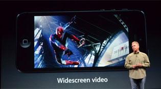 iPhone 5 dùng màn hình Retina 4 inch độ phân giải 1136 x 640 pixel
