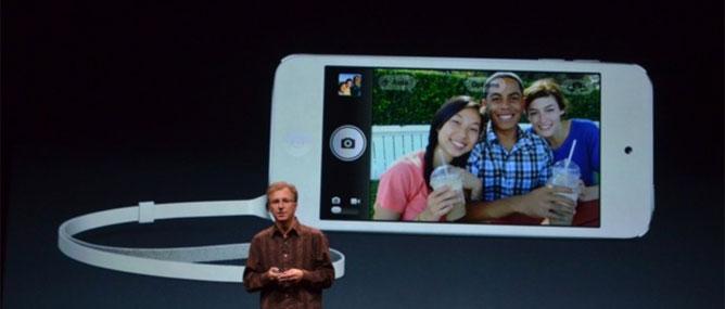 iPod Touch mới: màn hình 4 inch, Siri, camera 5 MP, giá từ 299 USD
