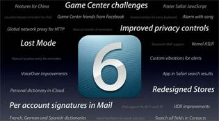 Các chức năng iOS 6 không dùng được ở Việt Nam