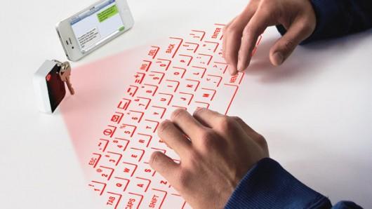 Bàn phím ảo CTX có kích thước vừa với móc chìa khóa