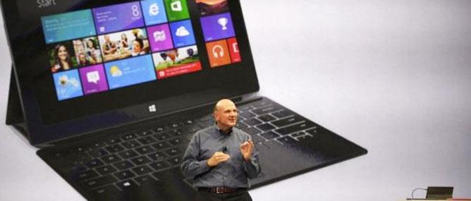 Giá bán Surface sẽ tương đương iPad