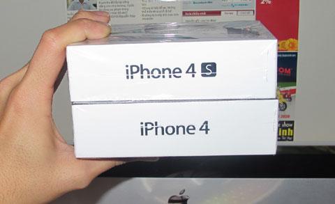 Cách phân biệt iPhone 4 và 4S