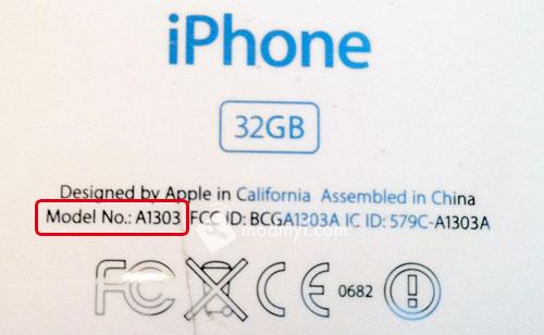 Số model iPhone là gì?