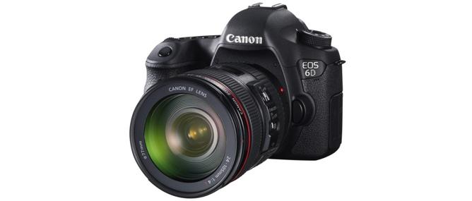 Đánh giá nhanh máy ảnh full-frame Canon EOS 6D
