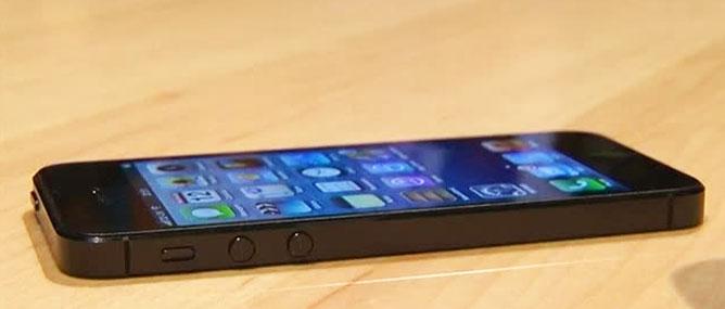 Hệ điều hành của iPhone 5 đã bị hack