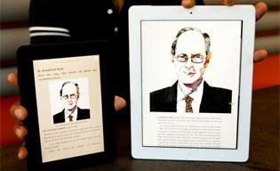 So sánh Kindle HD và iPad 2012