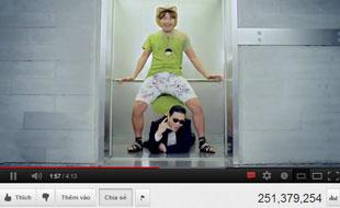 Gangnam Style lập kỷ lục thế giới về số like YouTube