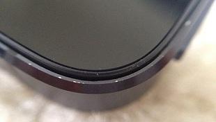 iPhone 5 rất dễ bị trầy xước vỏ, mép máy