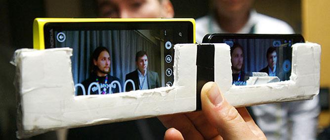Lumia 920 đọ khả năng chống rung với các điện thoại hàng đầu