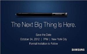 Samsung ấn định ngày ra mắt Galaxy Note 2 vào 24/10