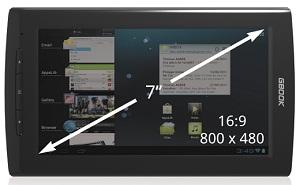 Archos giới thiệu thiết bị đọc sách điện tử Arnova GBook