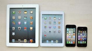 iPad Mini sẽ có màn hình tỷ lệ 16:9 giống iPhone 5