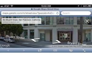 Chế độ Street View của Google Maps đã hỗ trợ Safari trên thiết bị iOS