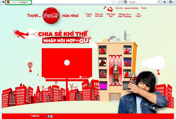 """Bị Coca, Samsung rút quảng cáo, Zing """"không bình luận"""""""