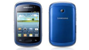 Samsung ra mắt smartphone nghe nhạc Galaxy Music, có phiên bản 2 SIM