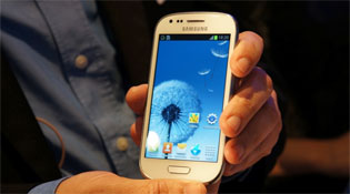 Cận cảnh Galaxy S III Mini