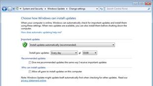 Có cần thường xuyên update Windows 7 không?