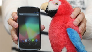 LG Nexus chỉ có 8 GB bộ nhớ, không có khe cắm thẻ nhớ ngoài