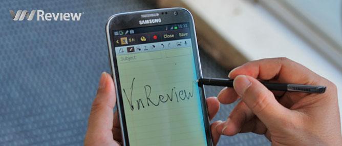 Trên tay Samsung Galaxy Note II chính hãng