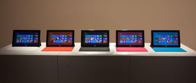Microsoft Surface có giá từ 499 USD, bán vào ngày 26/10