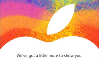 Apple đã gửi giấy mời sự kiện 23/10