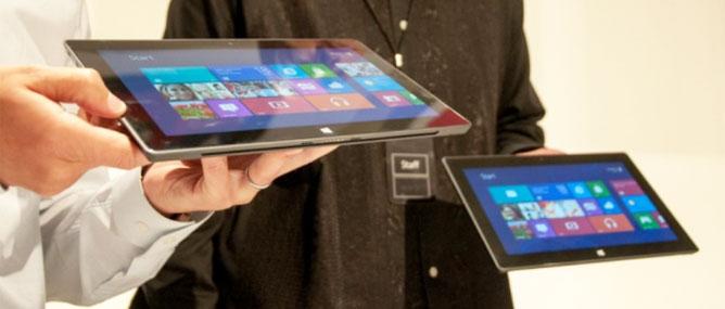 Màn hình Surface RT không nét bằng iPad