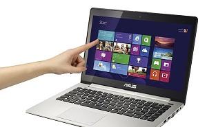 Ultrabook Asus Vivobook S400 màn hình cảm ứng, giá 14,7 triệu