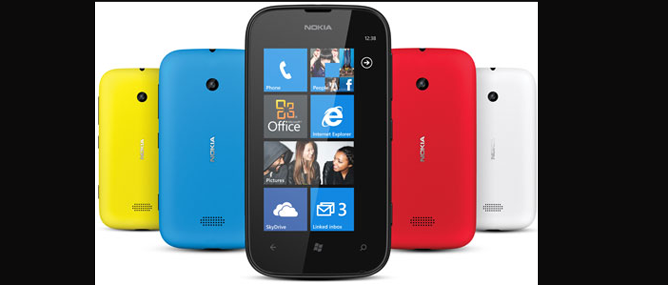 Nokia Lumia 510: màn hình 4 inch, WP 7.5, giá 4,2 triệu đồng