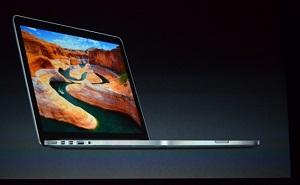 MacBook Pro 13 inch: mỏng hơn, màn hình Retina, 1699 USD