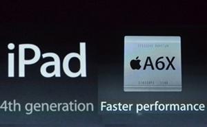 Apple bất ngờ ra iPad thế hệ thứ 4, bản nâng cấp của iPad 3