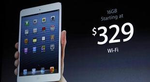 Giá bán iPad mini gây thất vọng