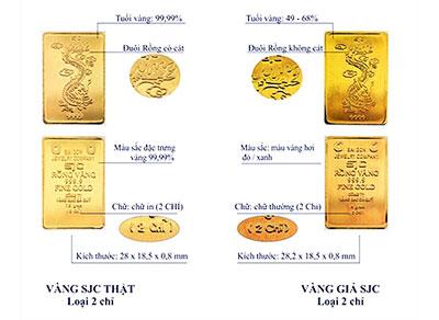 Vàng SJC giả là gì? Cách phát hiện vàng SJC giả?